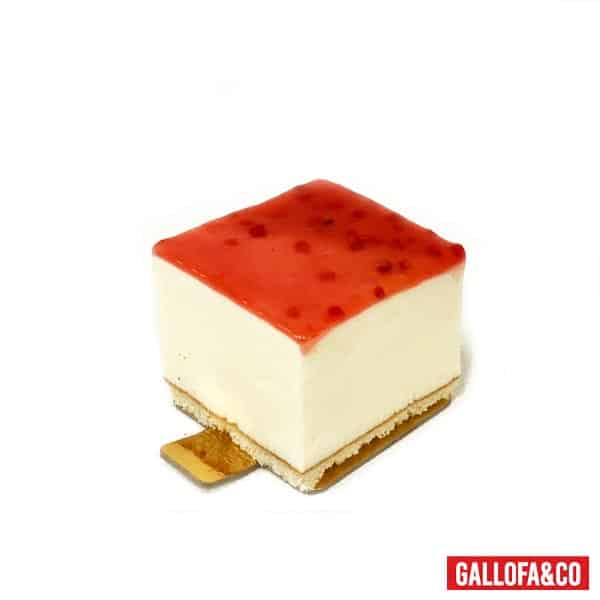 porción tarta queso