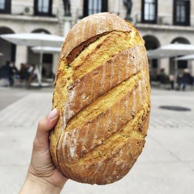 corteza  tamaño pan de maíz