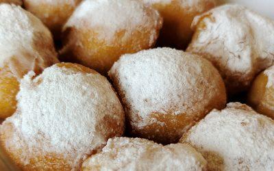 Buñuelos de crema y otros dulces del Día del Pilar